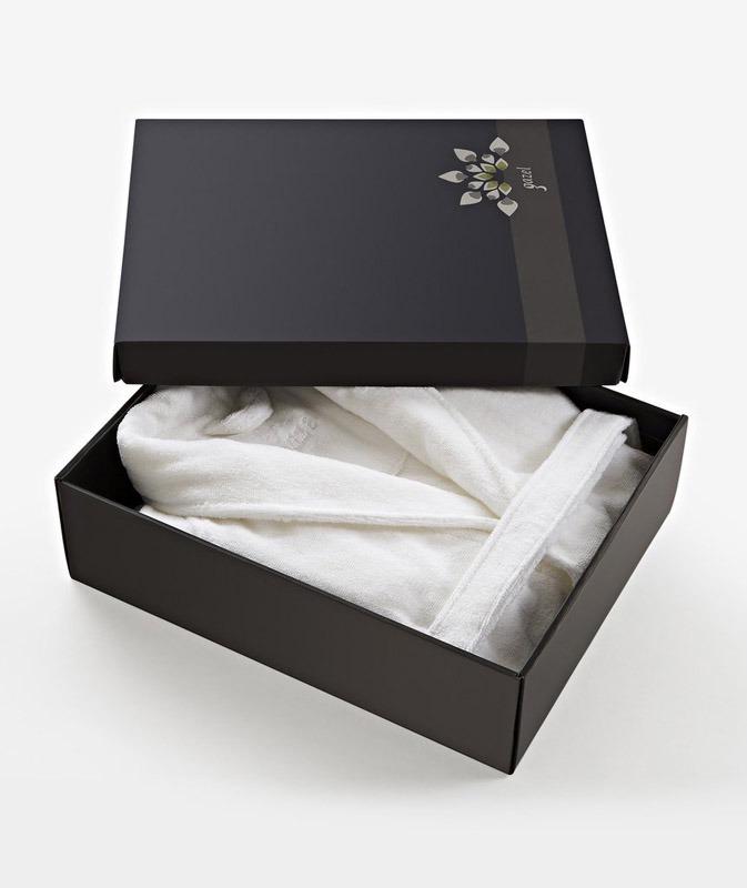 Женский халат в упаковке