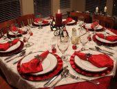 Украшение салфеток для стола на Новый год