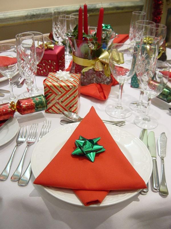 Салфетка для новогоднего стола