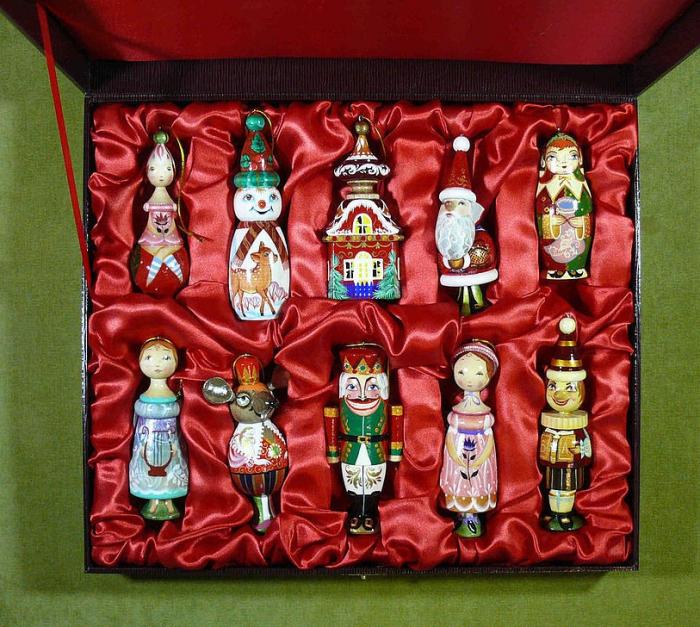 Новогодний набор игрушек