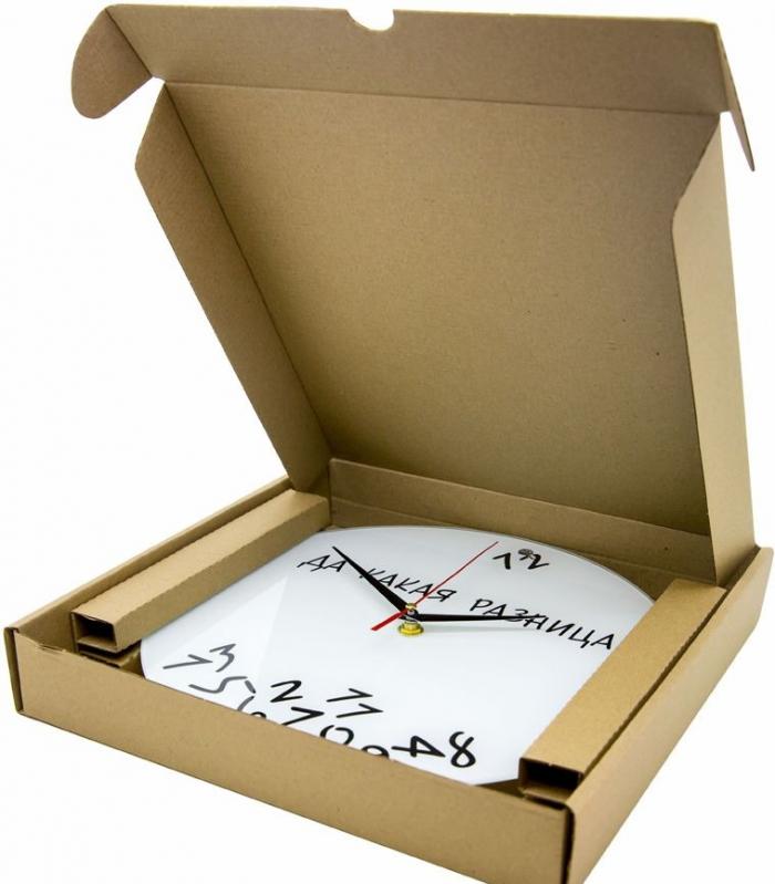 Настенные часы в упаковке