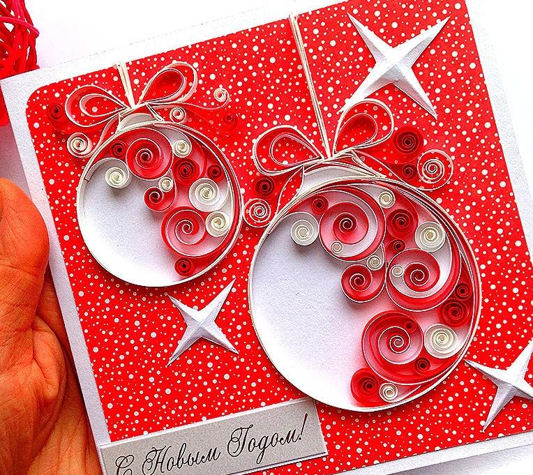 Открытки днем, новогодние открытки в квиллинге