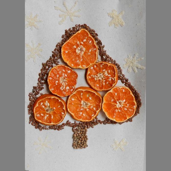 Поделки из сухих апельсинов