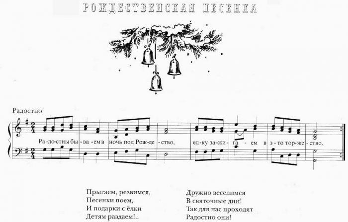 Рождественские песенки для детей православные