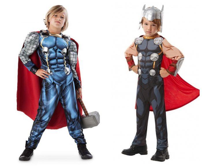 Мальчики в костюмах Тора