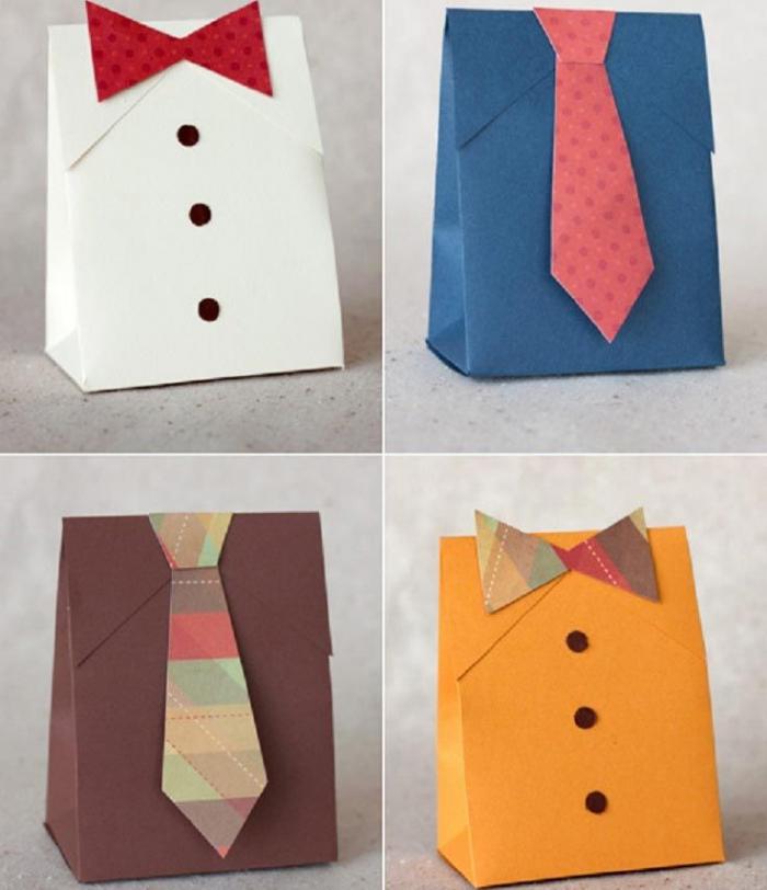 Упаковки для подарков в виде делового костюма