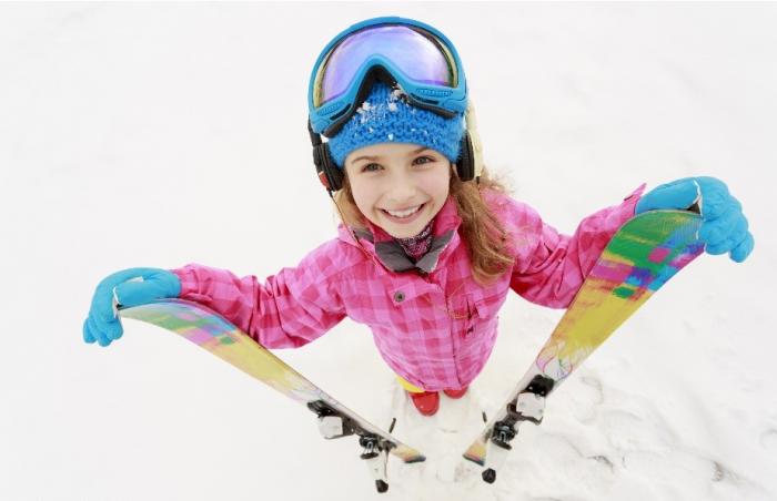 Лыжи для ребёнка
