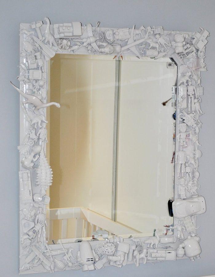 Оформление зеркала