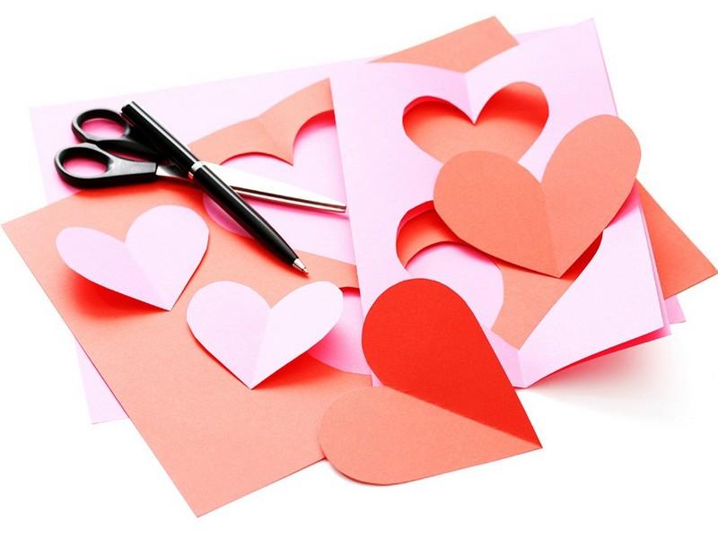 Карточки открытки к 14 февраля макеты