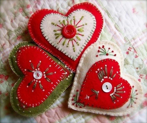 Элементы украшения вышивкой