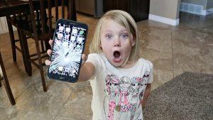 Разбил телефон: как сказать родителям?