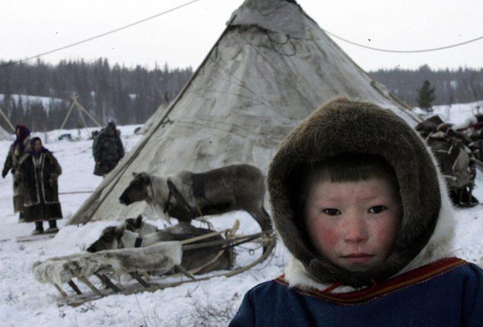 Юный житель племени