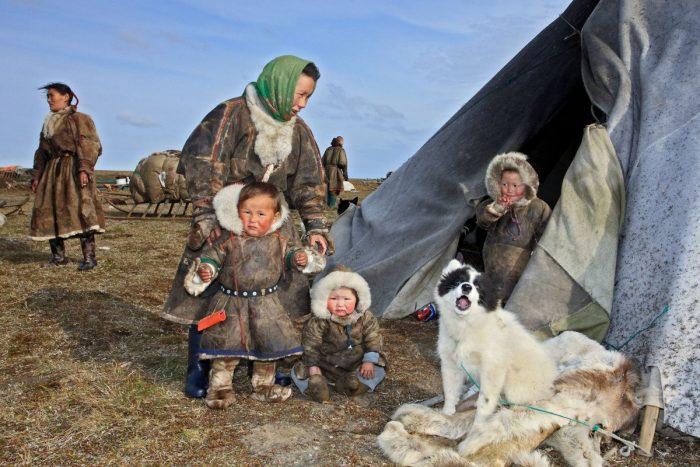 Семья кочевников