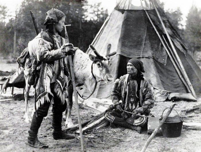 Быт племени кочевников