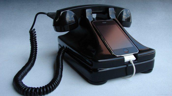 Док-станция из старого телефона